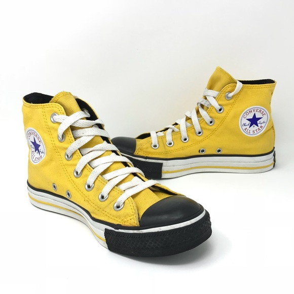 Sneakers Canary Yellow Black